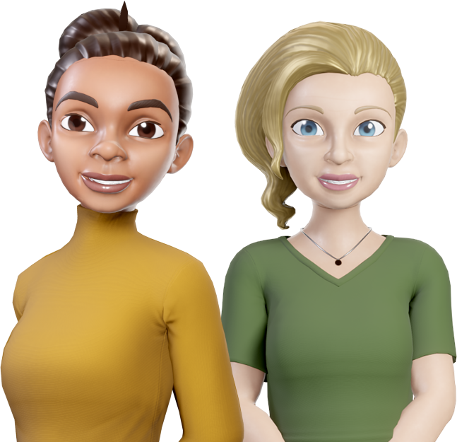 Clevertar chatbot characters