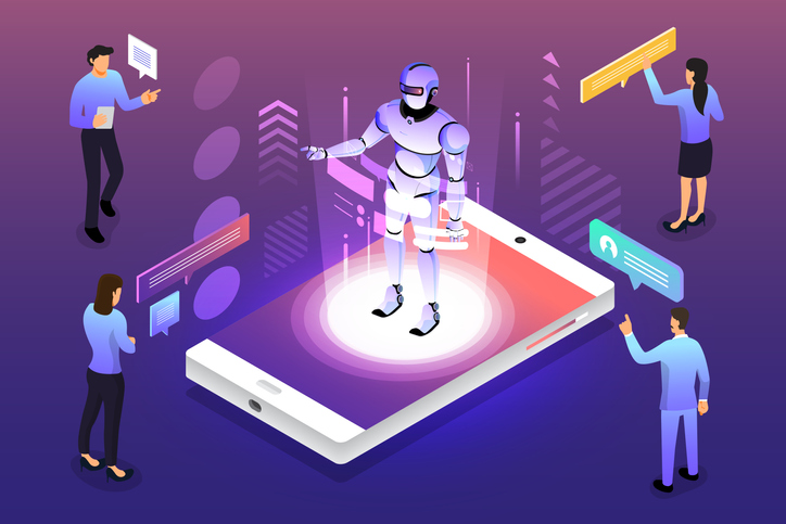 Get AI onto the task illustration