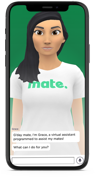 Meet Grace, the MATE chatbot