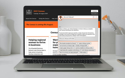 How we built this: A chatbot to help Australians complete the 2021 Census