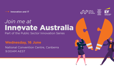 We'll be exhibiting at Innovate Australia