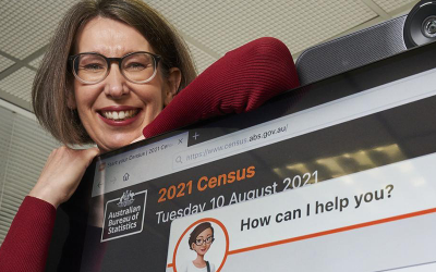 Census 2021: Adelaide's Clevertar creates 'Claire' chatbot to assist ABS online